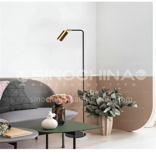 Art living room floor lamp study Nordic creative vertical lamp personality bedroom bedside lighting-YDH-6088